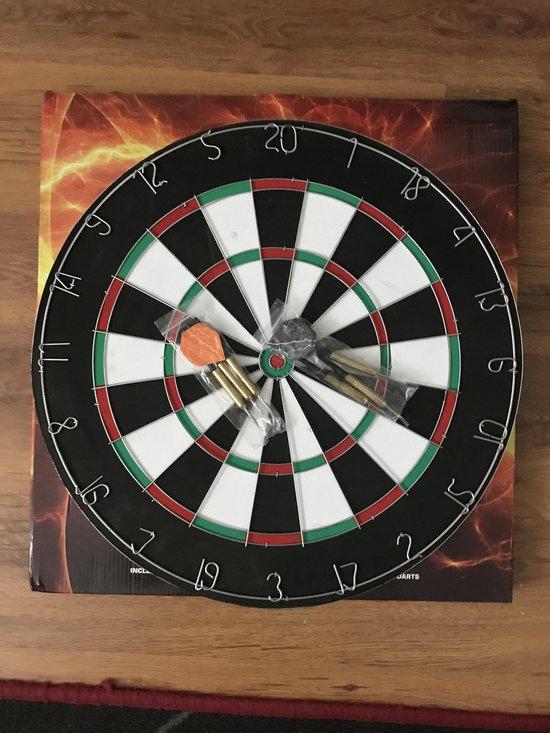 Afbeelding van het spel QX-Max Dartbord - inclusief 6 dartpijlen