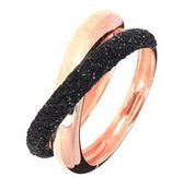 Verlinden Juwelier - Ring - Dames - zilver rose verguld - Pesavento - maat 17,5