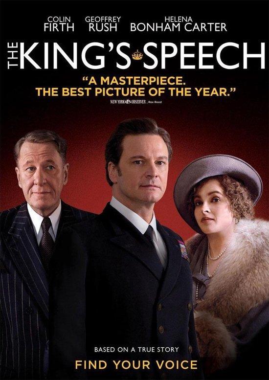 Cover van de film 'The King's Speech'