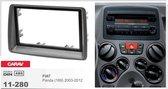 2-DIN FIAT Panda (169) 2003-2012 afdeklijst / installatiekit Audiovolt 11-280