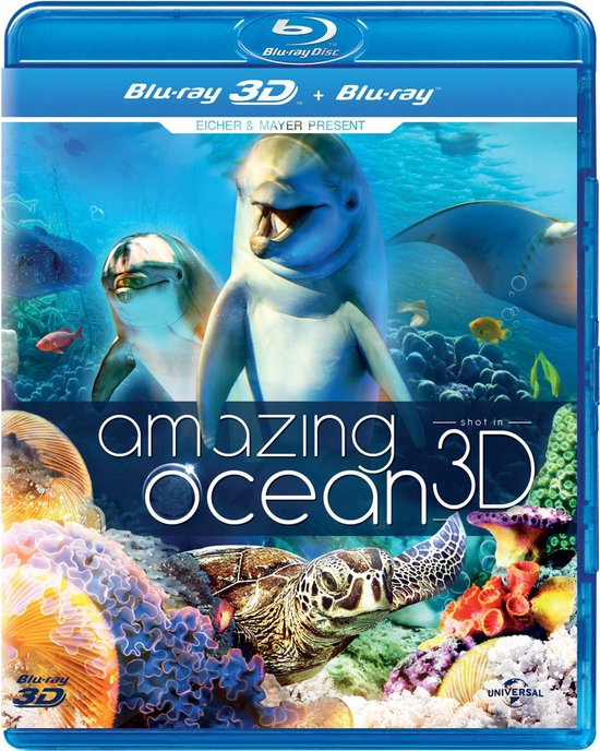 Cover van de film 'Amazing Ocean'