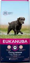Eukanuba Caring Senior Large Breed Kip - Hondenvoer - 15 kg