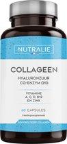 NUTRALIE Collageen met Hyaluronzuur, Co-enzym 10 & Zink - 60 Capsules