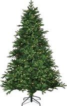 Black Box Brampton Spruce Kunstkerstboom - 215 cm hoog - Met energiezuinige LED lampjes