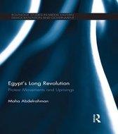 Boek cover Egypts Long Revolution van Maha Abdelrahman