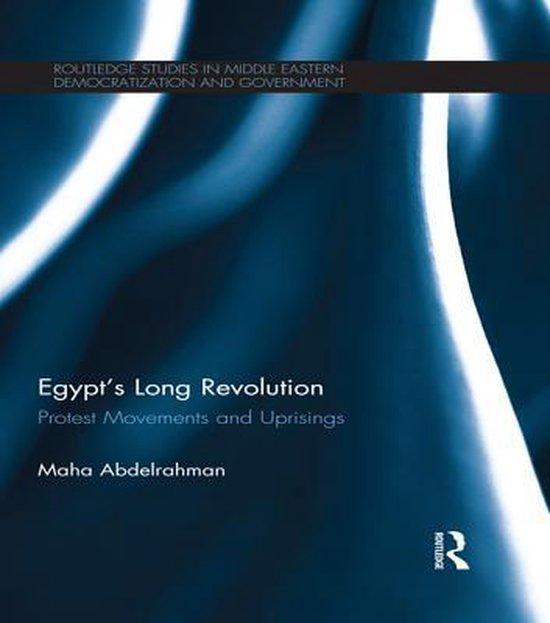 Boek cover Egypts Long Revolution van Maha Abdelrahman (Onbekend)