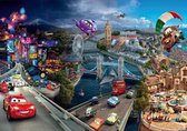Cars 2 Disney collage poster 61x91.5cm