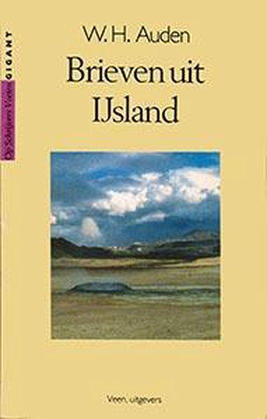 Boek cover Brieven uit IJsland van W.H. Auden (Paperback)