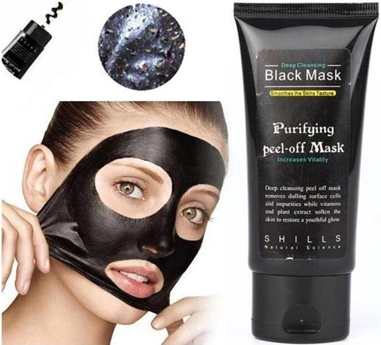 Black Head Peel Off Mask Tube Mee Eters & Acne verwijderen - Peel off  Black Head Mask - 50 ml - Gezichtsmasker