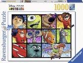 Disney Pixar Splatter Art (1000 PC Puzzle)
