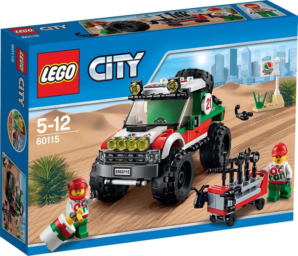 Lego 60115 City 4x4 Voertuig