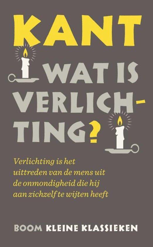 Boek cover Wat is verlichting? van Immanuel Kant (Paperback)