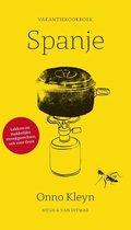 Boek cover Vakantiekookboek Spanje van Onno Kleyn