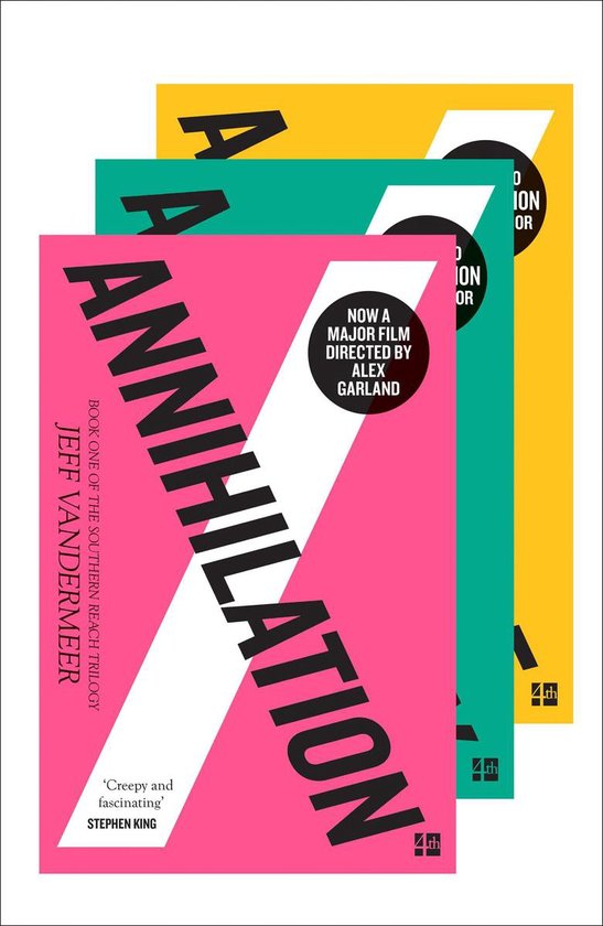 The Southern Reach Trilogy: Annihilation, Authority, Acceptance