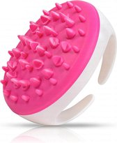 2 Stuks Cellulite/Cellulitis  massageborstels Roze – anti cellulitis/cellulite apparaat – lichaamsmassage/lichaamsborstels stimuleert de bloedsomloop