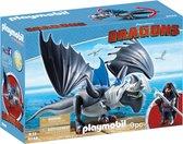 PLAYMOBIL Dragons Drago & bepantserde draak  - 9248
