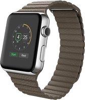 PU leather loop Apple watch 42mm bandje - bruin / Apple watch bandjes