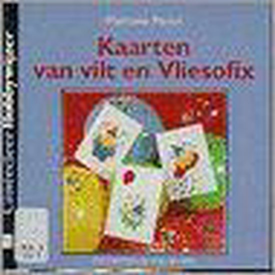 Kaarten van vilt en Vliesofix - M. Perlot  