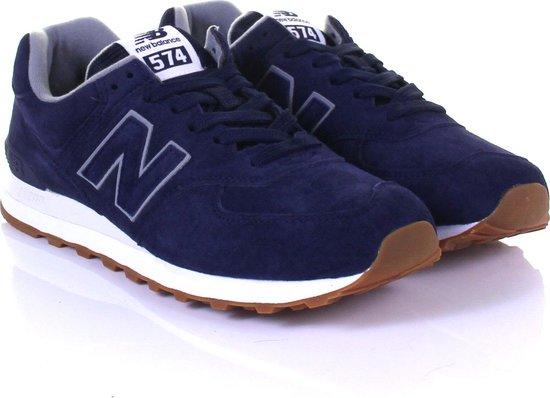 New Balance 574 Classics Sneakers - Maat 41.5 - Mannen - donker blauw