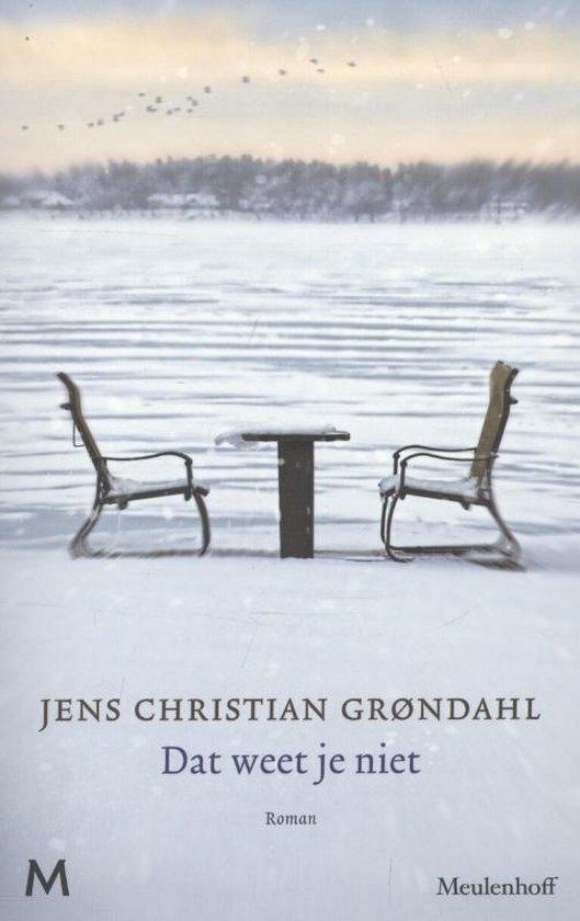 Boek cover Dat weet je niet van Jens Christian Grøndahl (Paperback)