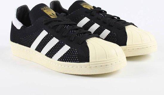 adidas superstar heren wit zwart