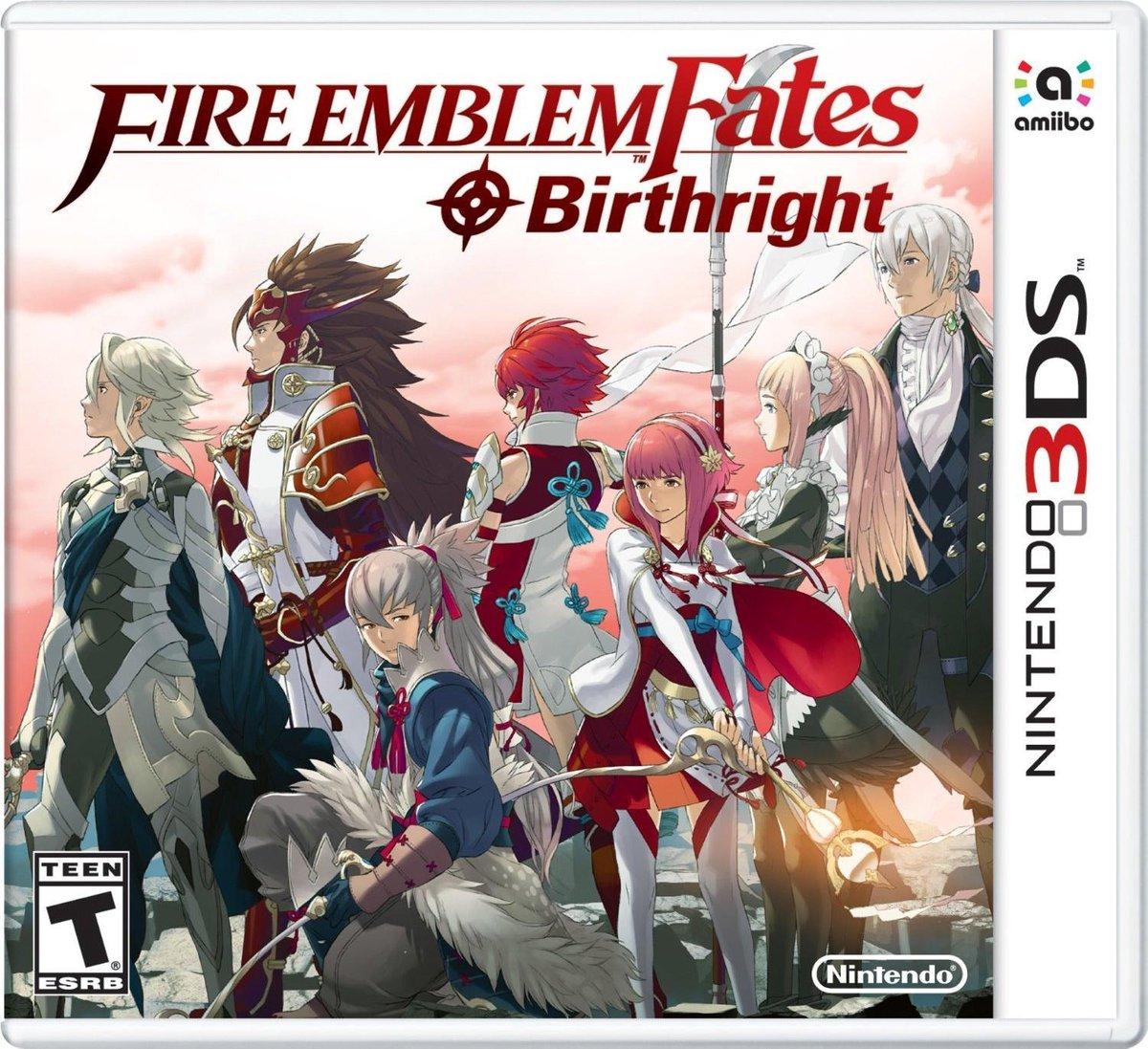 Fire Emblem Fates: Birthright - 2DS+ 3DS - Nintendo