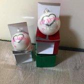 Kerstbal met naam - Kerst cadeau - Naam cadeau - Gepersonaliseerde kerstbal - Kerstbal gepersonaliseerd - naam kado