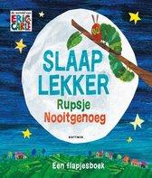 Boekomslag van 'Rupsje Nooitgenoeg - Slaap lekker Rupsje Nooitgenoeg'