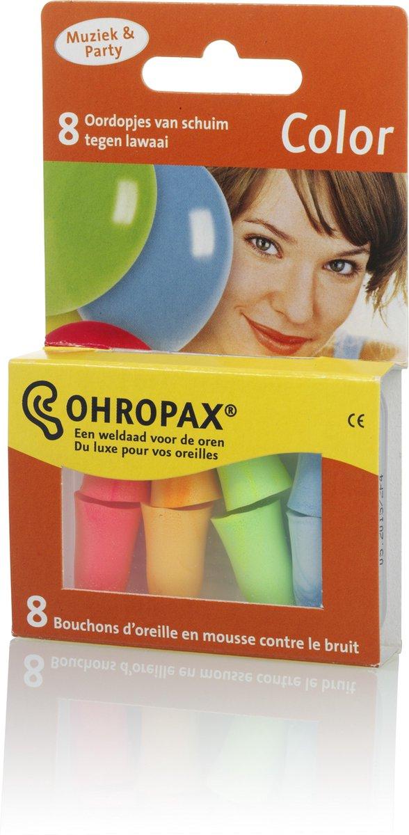 Ohropax Color - 8 stuks