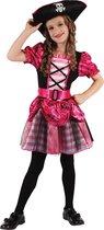 Roze piraten zeerover kostuum voor meisjes - Verkleedkleding