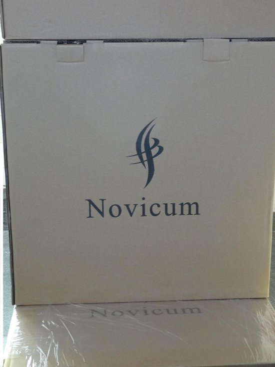 Novicum Liv zadelkruk kappersfiets zwart met groot zadel en large gasveer kapperskruk - Novicum®