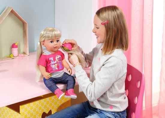 BABY born Grote Zus - Interactieve Pop - 43cm - BABY born
