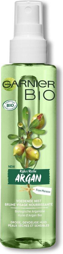 Garnier Bio Hydraterende Mist - 150 ml - Droge en gevoelige huid - Rijke Argan