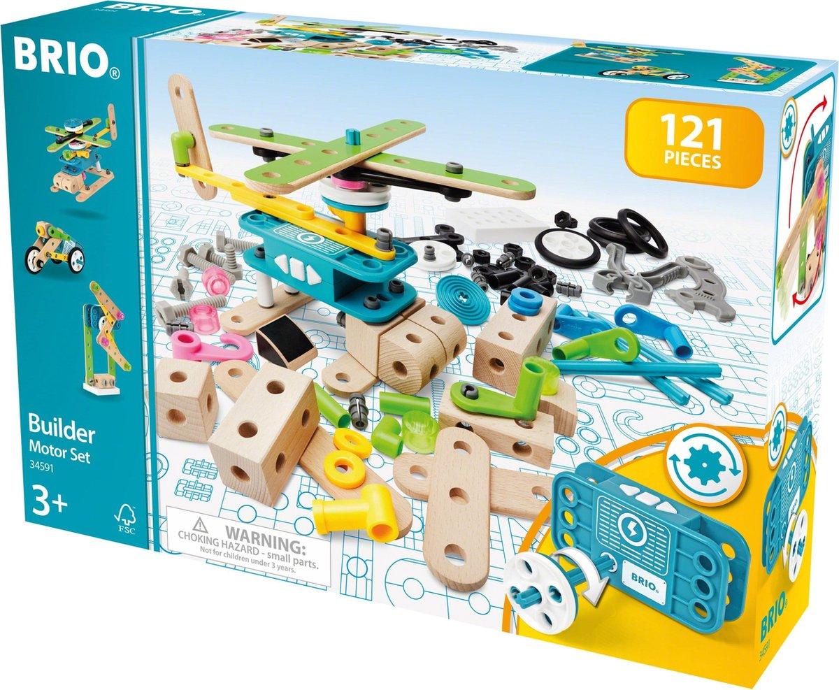 BRIO Builder Motorset - 34591