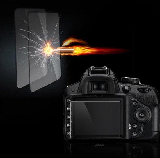 Tempered Glass Screenprotector Voor de Nikon D3100 / D3200 / D3300 / D3400 / D3500