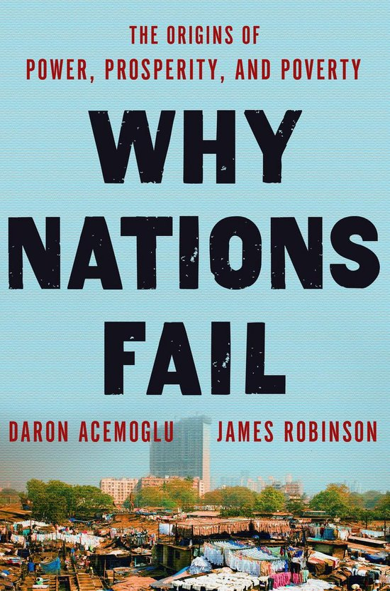 Boek cover Why Nations Fail van Daron Acemoglu (Hardcover)