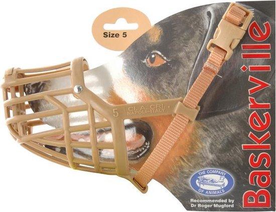 Baskerville - Classic Muzzle - Muilkorf - Maat 5