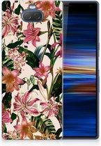 Sony Xperia 10 Plus Uniek TPU Hoesje Flowers