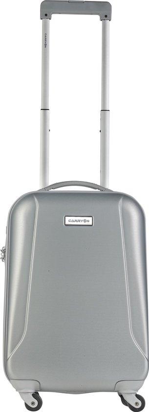 CarryOn Skyhopper Handbagage Koffer 55cm – TSA Trolley 2018 model - Zilver