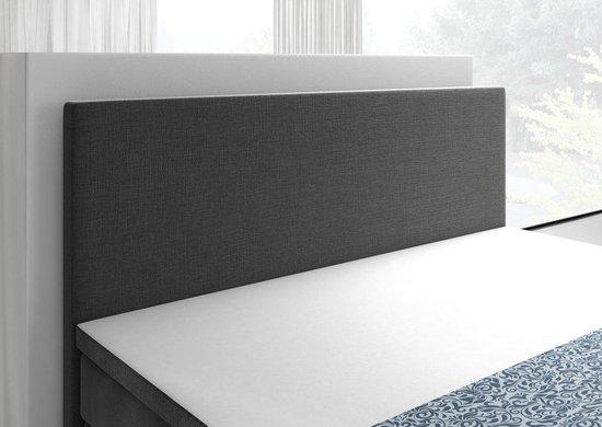 Boxspring Alexandria - Grijs - 180x200 cm - MEUBELLA