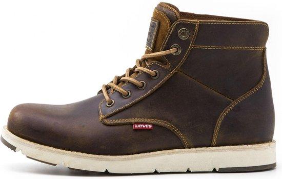 Levi Sneakers - Maat 42 - Mannen - donker bruin