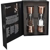 Cole & Mason Gourmet Precision Derwent Gun Copper Salt & Pepper Mill Gift Set 190 mm