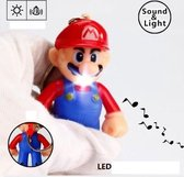 Super Mario sleutelhanger met licht en geluid