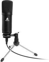 Maono AU-A04TR microfoon – Usb microfoon voor pc – Microfoon arm – Gaming microfoon – Microfoon statief – Microfoon standaard – Podcast microfoon – Studio microfoon – Streaming microfoon – Playstation microfoon – PS4 – Condensator microfoon – Dj set