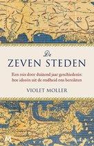 Boek cover De zeven steden van Violet Moller (Hardcover)