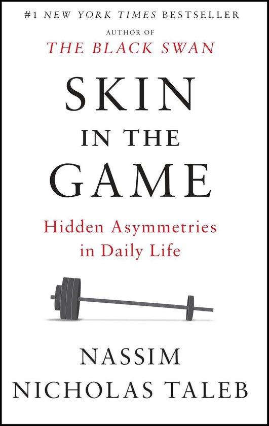 Boek cover Skin in the Game van Nassim Nicholas Taleb (Paperback)