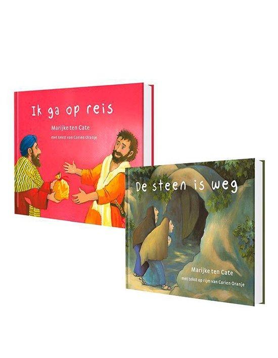 SET: Prentenbijbel kartonboekjes NT - Corien Oranje  