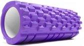 Fascia rol / massage roller »Anasuya« foam roller / pilates rol / therapie roller voor zelfmassage / Meerdere kleuren verkrijgbaar. De foam rol is ideaal voor fasciale (bindweefsel) training van de rug, dijen. Afmetingen: L34cm x D14cm : violett