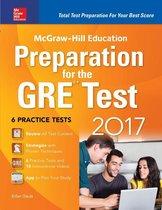 Boek cover McGraw-Hill Education Preparation for the GRE Test 2017 van Erfun Geula
