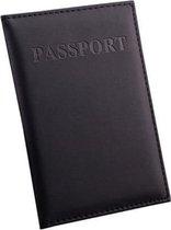 Zwarte Paspoort Protector - Beschermhoes - Paspoorthouder - Cover - Mapje